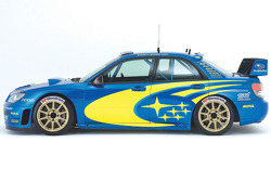 The revised Subaru Impreza WRC2006