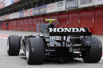 Jenson Button drives the Honda RA107