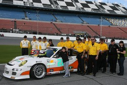 #22 Alegra Motorsports/ Fiorano Racing Porsche GT3 Cup: Carlos de Quesada, Jean-François Dumoulin, Scooter Gabel, Marc Basseng