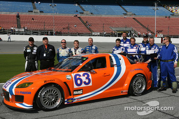 #63 Team Spencer Motorsports Mazda RX-8: Dennis Spencer, Scott Spencer, Richard Grupp, Gary Drummond, Charles Espenlaub
