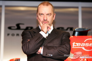 Spyker-Ferrari F8-VII Chief Technical Officer Mike Gascoyne
