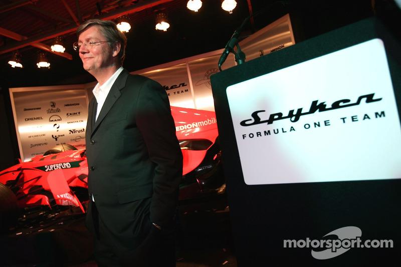 Victor Muller, CEO Spyker Cars N.V