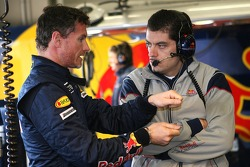 David Coulthard and Guillaume Roquelien