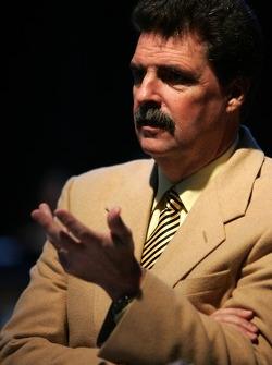 President of NASCAR Mike Helton