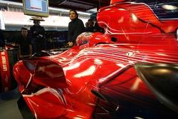 The new Scuderia Toro Rosso STR2