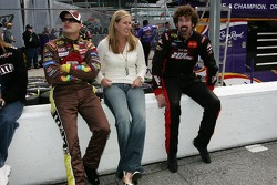 David Gilliland with wife Michelle and Boris Said