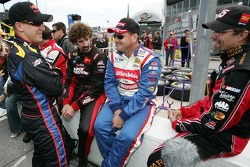 A.J. Allmendinger, Boris Said, Ken Schrader and Kyle Petty