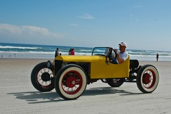 Living Legends Parade on the beach