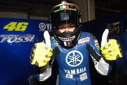 BMW M Award winner Valentino Rossi celebrates