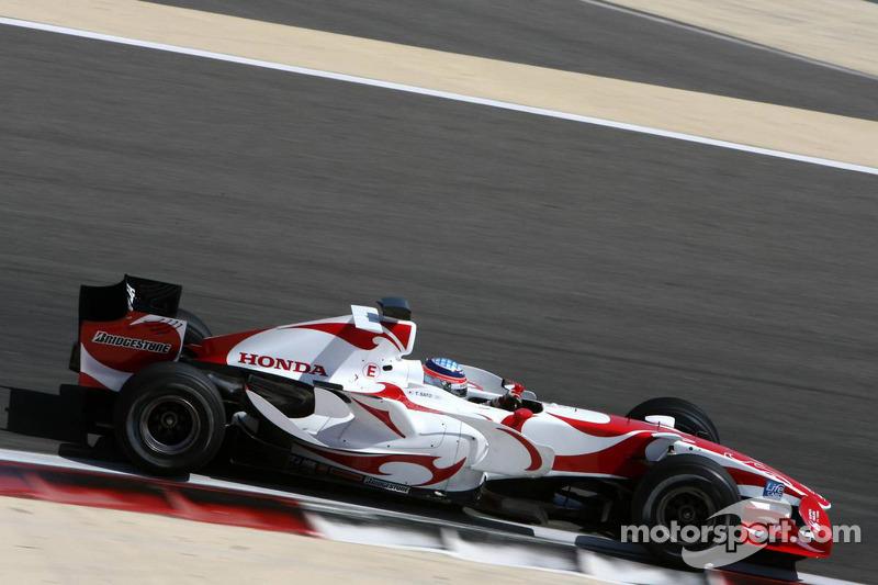 Takuma Sato, Super Aguri F1, Interim Chassis