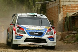 Gareth MacHale and Paul Nagle, Ford Focus RS WRC