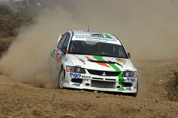 Martin Rauam and Kristo Kraag, Martin Rauam Mitsubishi Lancer Evolution IX