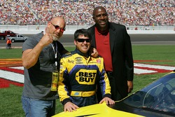 Bill Goldberg, Jeff Green and Magic Johnson