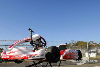 Jarno Trulli, Toyota Racing, Kart - Karting with Australian Football League Players