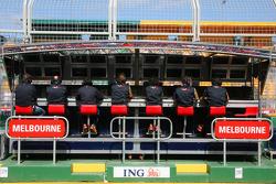 Scuderia Toro Rosso, Pit Gantry
