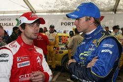 Sébastien Loeb and Petter Solberg