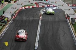 Sébastien Loeb and Daniel Elena, Citroen Total WRT, Citroen C4 WRC, Marcus Gronholm and Timo Rautianen, BP Ford, Ford Focus WRC
