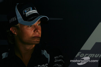 FIA press conference: Nico Rosberg, WilliamsF1 Team