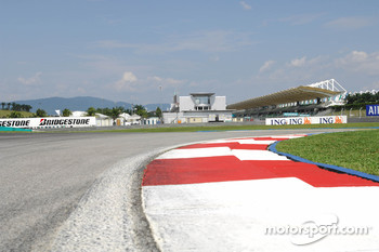 Sepang International Circuit track walk