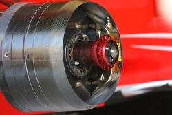 Ferrari technical front brake disc