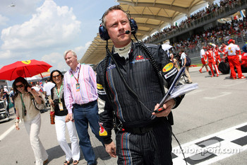Red Bull Racing team manager Jonathan Wheatley