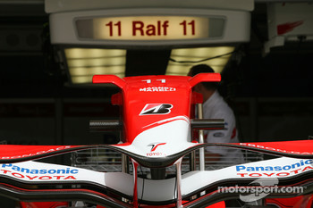 Ralf Schumacher, Toyota Racing, garage