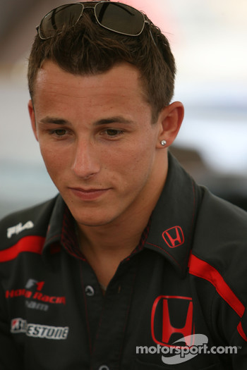 Autograph session: Christian Klien, Test Driver, Honda Racing F1 Team