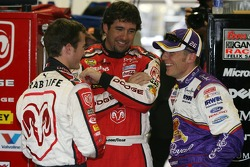 Kasey Kahne, Elliott Sadler and Jamie McMurray