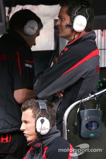 Christian Klien, Test driver, Honda Racing F1 Team, Gil de Ferran, Honda Racing F1 Team, Sporting Director