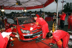 Citroen Total WRT service area