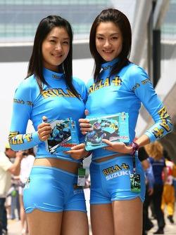 Charming Rizla+ Suzuki girls