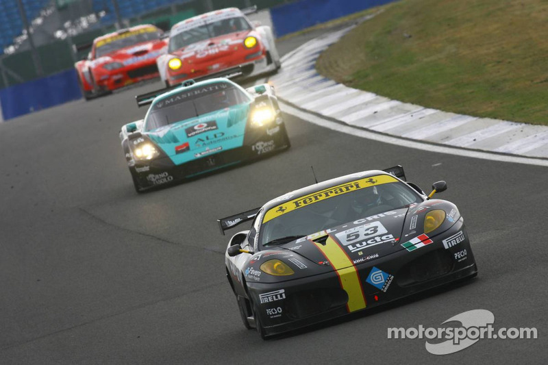 #53 Racing Team Edil Cris Ferrari 430 GT2: Matteo Cressoni, Michele Rugolo