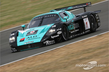 #1 Vitaphone Racing Team Maserati MC 12 GT1: Mika Salo, Thomas Biagi
