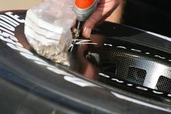 Renault F1, Team wheel