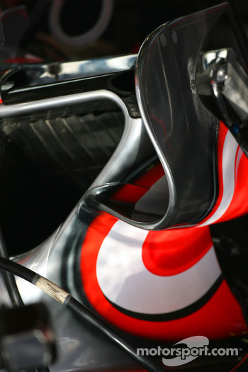 McLaren Mercedes, MP4-22 detail