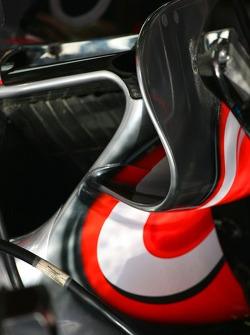 McLaren Mercedes, MP4-22 detail