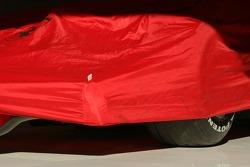 Ferrari F2007 under a blanket