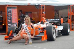 Miss Grand Prix of Houston winner Angela Saltzman