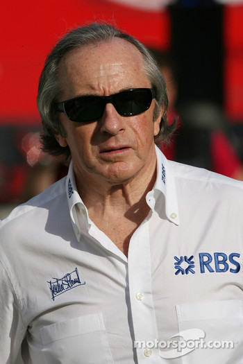 Sir Jackie Stewart, RBS Representitive and Ex F1 World Champion