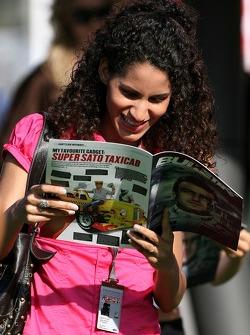 Formula Una girl