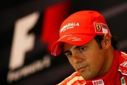 FIA press conference: Felipe Massa, Scuderia Ferrari