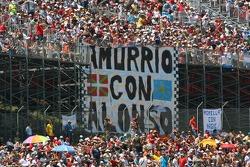Fernando Alonso, McLaren Mercedes, fans