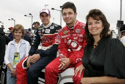Beverly Ragan, David Ragan, Reed Sorenson and Becky Sorenson pose for a photo