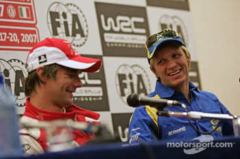 Press conference: Sébastien Loeb and Petter Solberg