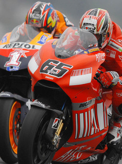 Loris Capirossi and Nicky Hayden