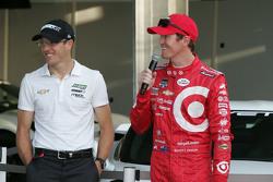 Chevrolet aero presentation: Sebastien Bourdais, KVSH Racing and Scott Dixon, Chip Ganassi Racing Chevrolet