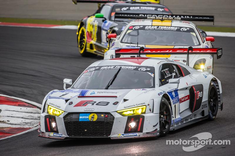 #1 Phoenix Racing Audi R8 LMS: Christopher Haase, Christian Mamerow, René Rast, Markus Winkelhock