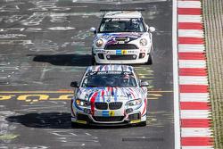 #235 Walkenhorst Motorsport BMW M235i Racing: Bernd Ostmann, Peter Wyss, Victor Bouveng, Harald Grohs, #133 DSK e.V. Mini JCW: Ralf Zensen, Lother Wilms, Tony Stark, Steve Rogers