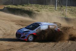 Thierry Neuville and Nicolas Gilsoul, Hyundai i20 WRC Hyundai Motorsport