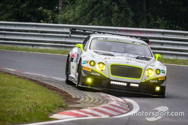 #11 Bentley Team HTP Bentley Continental GT3: Harold Primat, Christopher Brück, Clemens Schmid, Marco Seefried
